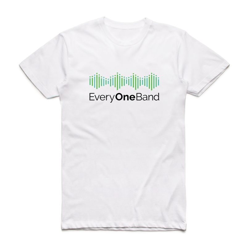 Green Logo White Tshirt & (Main Mix) Digital Download